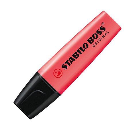 Marca-Texto Stabilo Boss Original Vermelho 70/40