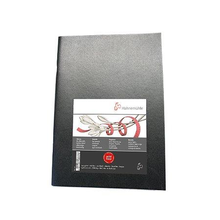 Sketch Booklet Preta 140g A5 C/ 20 Fls