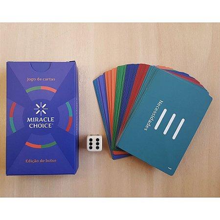 Jogo de Cartas Miracle Choice (Edição de Bolso)