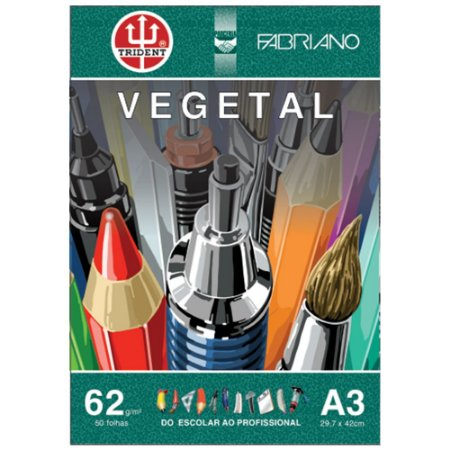 Papel Vegetal A3 62g 50 Folhas