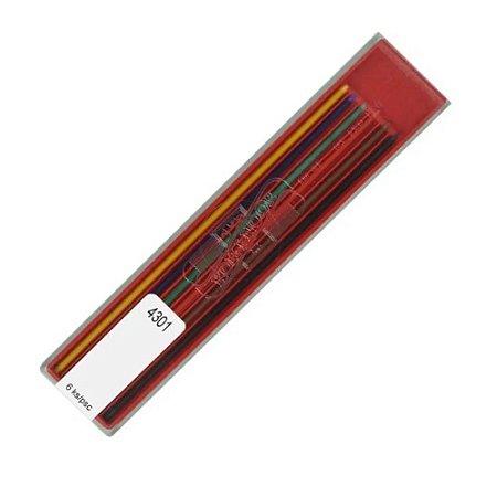 Mina Colorida 2,0mm C/6 Cores Koh-I-Noor 4301