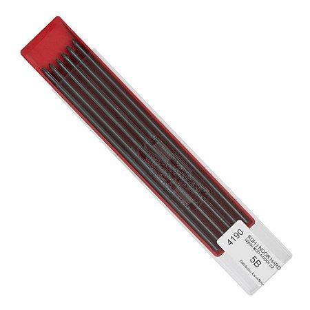 Mina Grafite 2,0mm 5B C/12 Unid. 4190