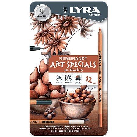 Lápis Profissional Lyra Rembrand Art Special Misto C/12 Unid.
