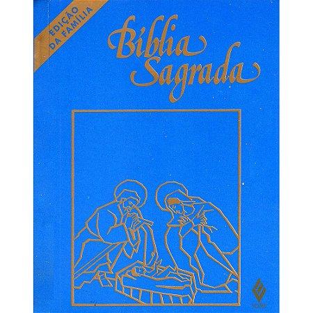 Bíblia Sagrada Ed.FamÍlia Bolso Cristal