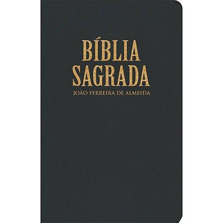 Bíblia Sagrada Rc Extra Gigante - Capa Luxo Preta