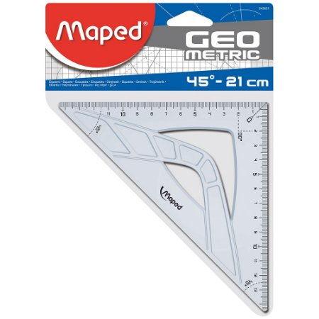 Esquadro Maped Geometric 45° - 21cm 242421