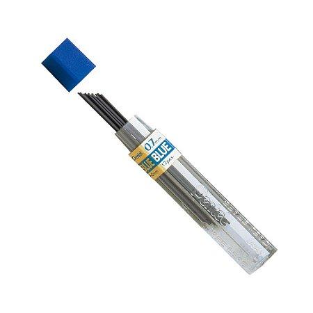 Grafite Colorido 0,7mm Azul Pentel