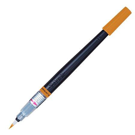 Caneta Pincel Color Brush Amarelo Alaranjado Pentel GFL-140X