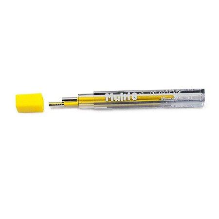 Minas De Grafite Pentel 2,0mm Amarelo P/ Multi 8 Ch2-G