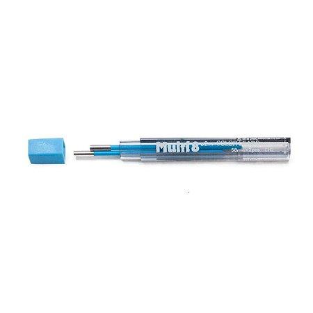 Minas De Grafite Pentel 2,0mm Azul Claro P/ Multi 8 Ch2-S