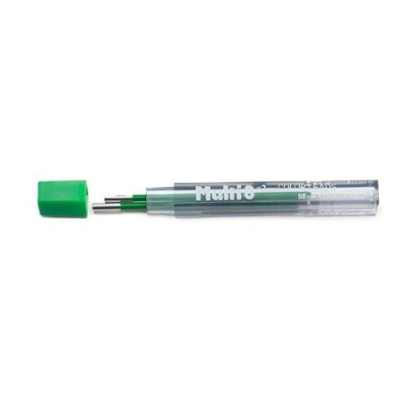 Minas De Grafite Pentel 2,0mm Verde P/ Multi 8 Ch2-D