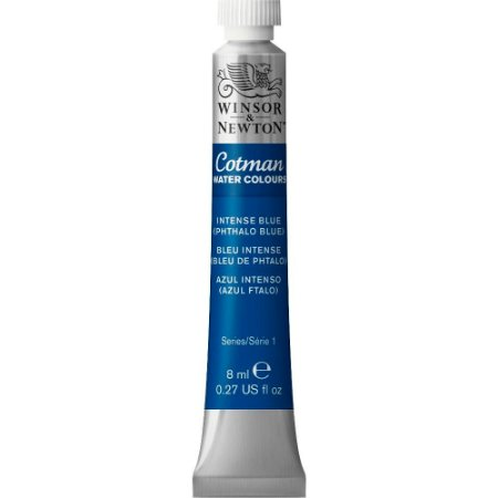 Tinta Aquarela Cotman Winsor & Newton Tubo 8ml Intense Blue 0303327