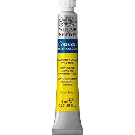 Tinta Aquarela Cotman Winsor & Newton Tubo 8ml Cadmium Yellow Pale Hue 0303119