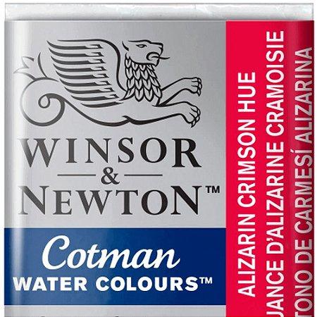 Aquarela Em Pastilha Cotman Winsor E Newton Avulso Alizarin Crimson Hue 0301003