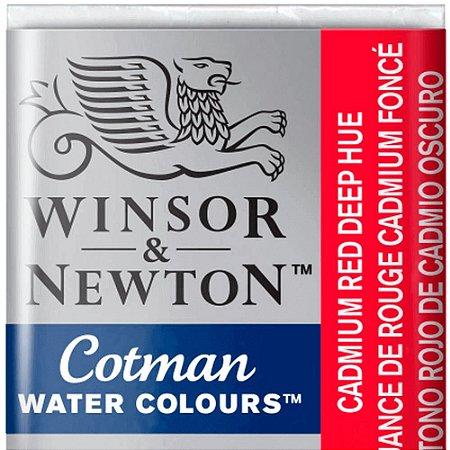 Aquarela Em Pastilha Cotman Winsor E Newton Avulso Cadmium Red Deep Hue 0301098