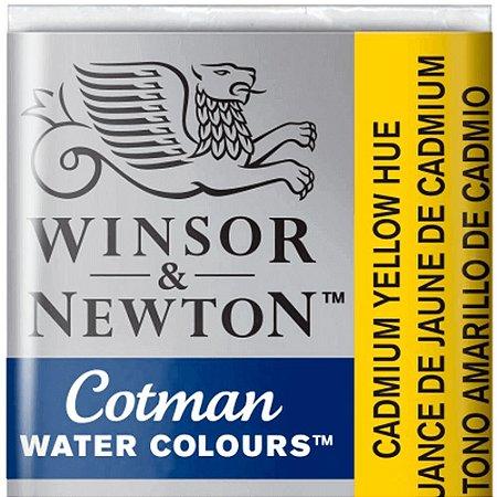 Aquarela Em Pastilha Cotman Winsor E Newton Avulso Cadmium Yellow Hue 0301109