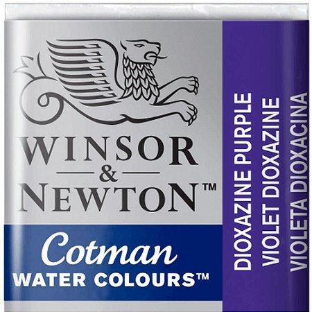 Aquarela Em Pastilha Cotman Winsor E Newton Avulso Dioxazine Violet 0301231