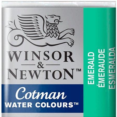 Aquarela Em Pastilha Cotman Winsor E Newton Avulso Emerald 0301235
