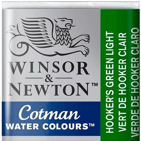 Aquarela Em Pastilha Cotman Winsor E Newton Avulso Hookers Green Dark 0301312