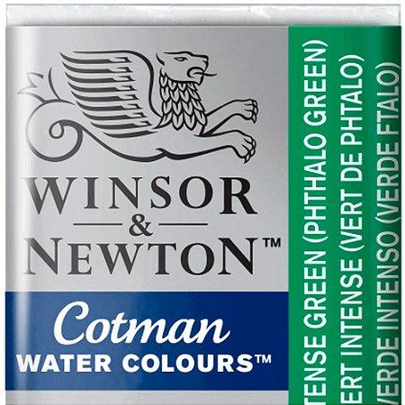 Aquarela Em Pastilha Cotman Winsor E Newton Avulso Intense Green 0301329