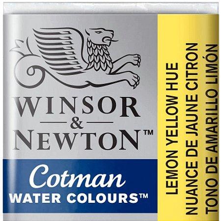 Aquarela Em Pastilha Cotman Winsor E Newton Avulso Lemon Yellow Hue 0301346