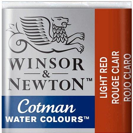Aquarela Em Pastilha Cotman Winsor E Newton Avulso Light Red 0301362