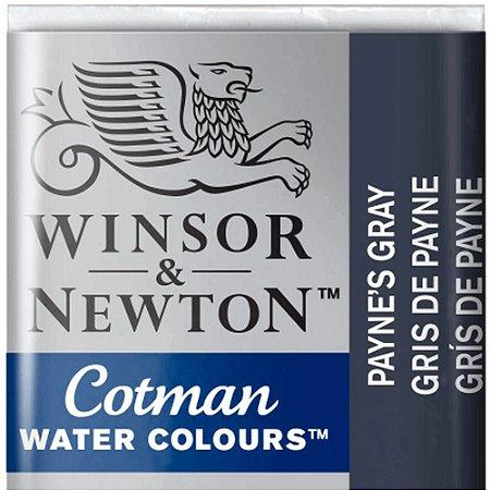 Aquarela Em Pastilha Cotman Winsor E Newton Avulso Paynes Gray 0301465