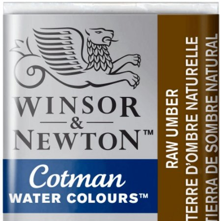 Aquarela Em Pastilha Cotman Winsor E Newton Avulso Raw Umber 0301554