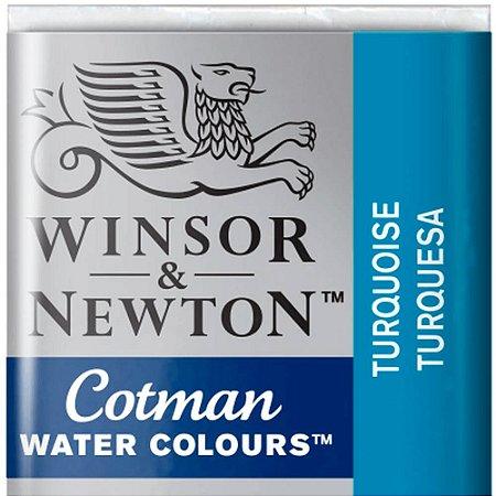 Aquarela Em Pastilha Cotman Winsor E Newton Avulso Turquoise 0301654