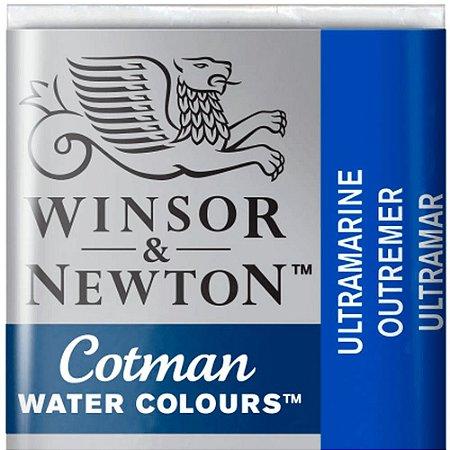 Aquarela Em Pastilha Cotman Winsor E Newton Avulso Ultramarine 0301660