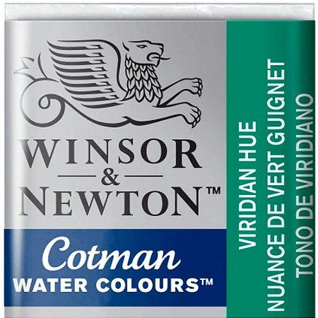 Aquarela Em Pastilha Cotman Winsor E Newton Avulso Viridian Hue 0301696