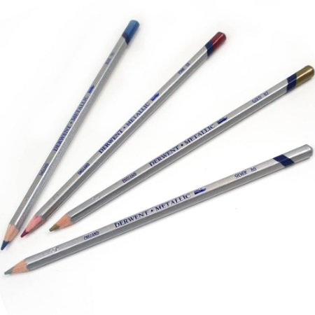 Lápis De Cor Aquarelável Metallic Unitário Pink 296066