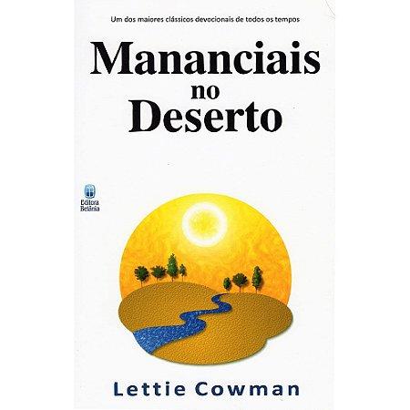 Mananciais No Deserto Vol. 1