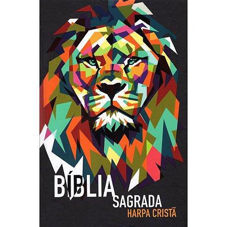 Bíblia Afinidade Jovem Impactar - Capa Dura Leão