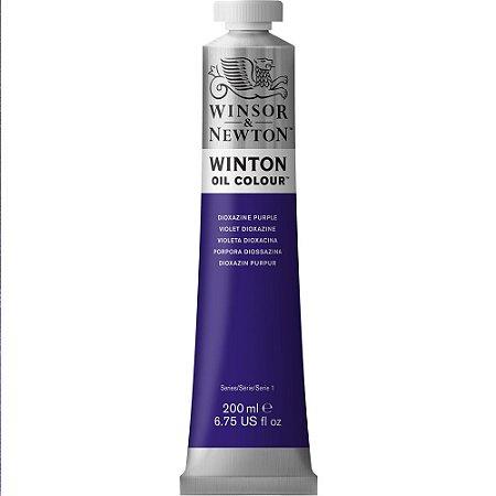 Tinta Óleo Winton Dioxazine Purple Winsor & Newton 200ml