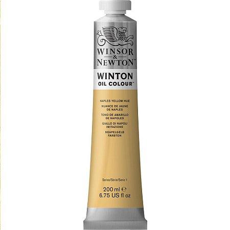 Tinta Óleo Winton Naples Yellow Hue Winsor & Newton 200ml