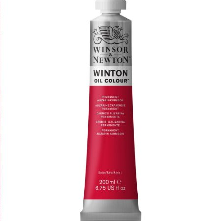 Tinta Óleo Winton Permanent Alizarin Crimson Winsor & Newton 200ml