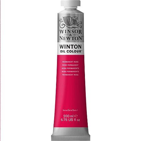 Tinta Óleo Winton Permanent Rose Winsor & Newton 200ml