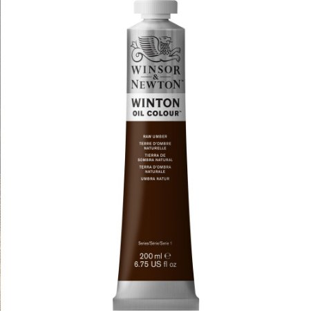 Tinta Óleo Winton Raw Umber Winsor & Newton Tubo 200ml
