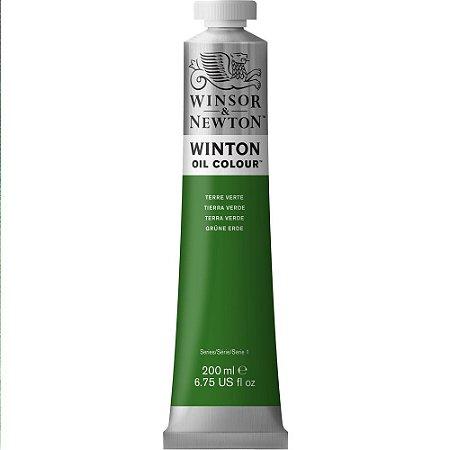 Tinta Óleo Winton Terre Verte Winsor & Newton Tubo 200ml