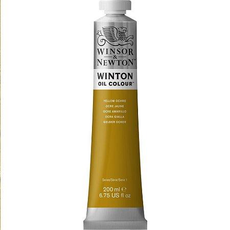 Tinta Óleo Winton Yellow Ochre Winsor & Newton Tubo 200ml