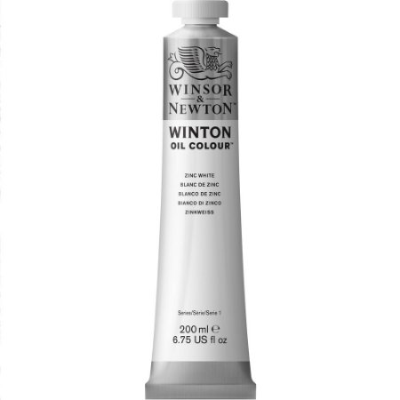 Tinta Óleo Winton Zinc White Winsor & Newton Tubo 200ml