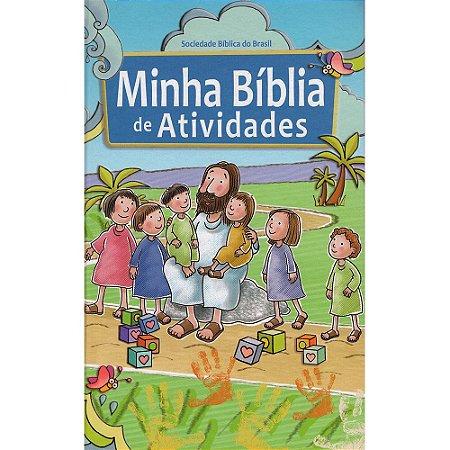 Minha Bíblia De Atividades Capa Dura Ilustrada