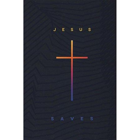 Bíblia NAA Grande - Capa Ilustrada Jesus Saves