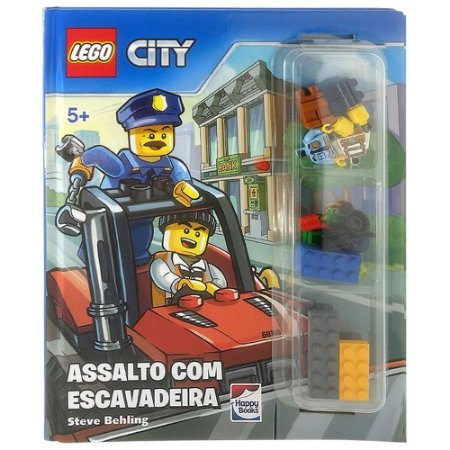 Lego City. Assalto Com Escavadeira