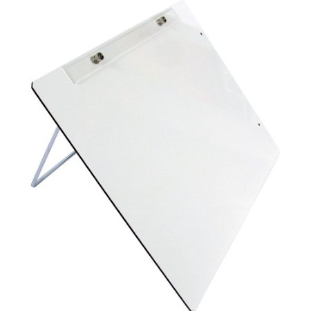 Prancheta A3 Portatil Reclinavel Trident Fórmica c/ Suporte Branca
