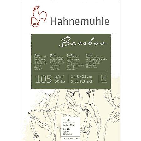 Bloco Desenho A5 Bamboo Sketch Hahnemuhle 105 g/m² 30Fls