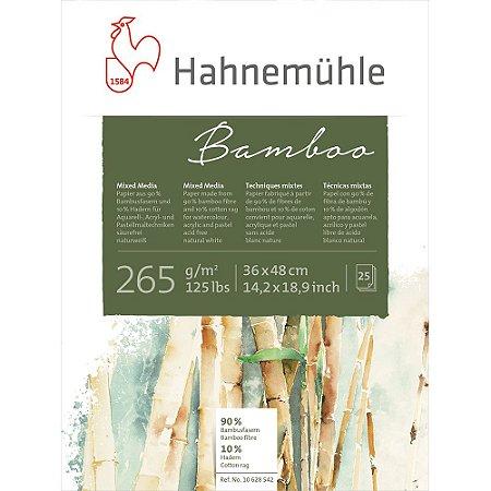Bloco Bamboo Hahnemuhle Mixed Media 265 g/m² 36X48Cm 25Fls