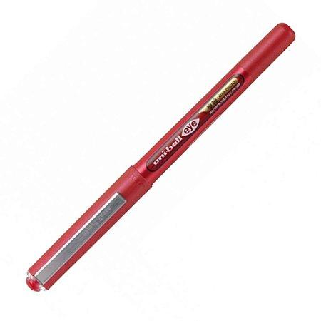 Caneta Rollerball Eye Ultra Micro Uni-BallVermelha 0,38mm UB-150-38