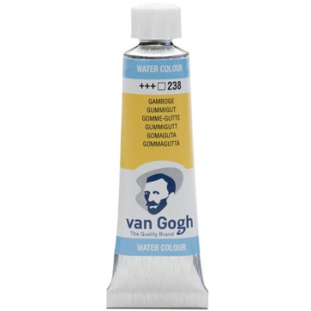 Tinta Aquarela Talens Van Gogh Gamboge 238 Tubo 10ml